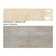 HARLEQUIN CREAM 7х28