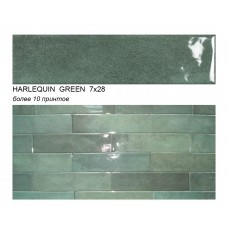 HARLEQUIN GREEN 7х28