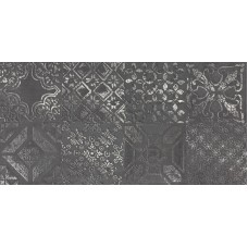 DEC.PATCHWORK BLACK LAPP.30X60