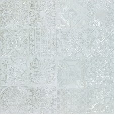 DEC.PATCHWORK SILVER LAPP.60X60